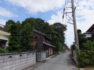 小俣神社付近