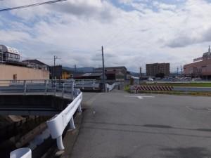 松倉橋(汁谷川)付近