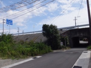 県道37号下(度会橋西詰付近)