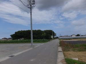 近鉄山田線 踏切道 小俣第6号から高向大社(御薗町高向)へ