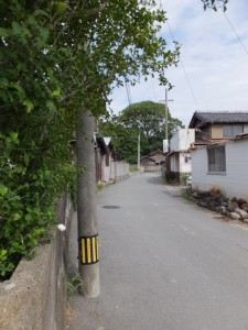 高向大社付近から宇須乃野神社へ(御薗町高向)
