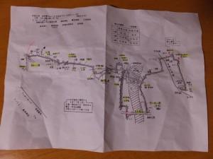 平成6年 お伊勢さん125社めぐり 小俣めぐりコースマップ