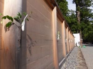 外宮(豊受大神宮)の板垣
