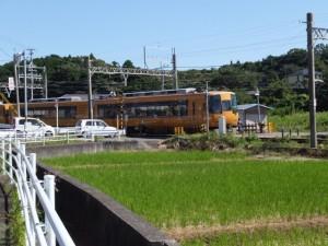 近鉄 踏切道 沓掛 第五号(上之郷駅近く)