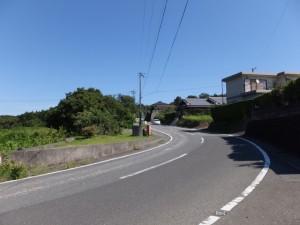 近鉄 踏切道 沓掛 第五号から的矢方向へ(県道47号)