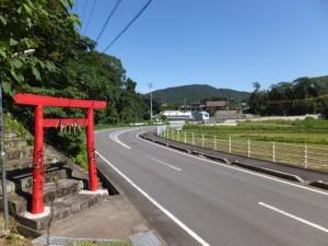 県道47号 鳥羽磯部線、山田橋(野川)付近