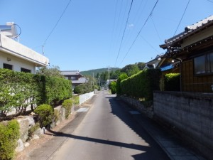 県道47号 鳥羽磯部線、山田橋(野川)付近から安國寺へ