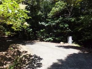 青峰道(磯部道)の十六丁付近の分岐から青峰山山頂へ