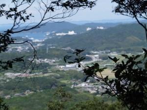 青峰道(松尾道)からの眺望