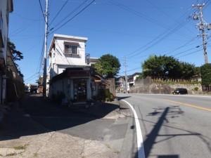国道167号から船津八幡神社へ