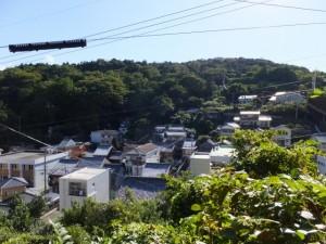 旧鳥羽小学校付近からの眺望