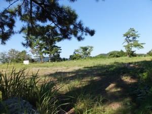 旧鳥羽小学校の運動場であった鳥羽城本丸跡