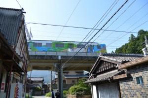 近鉄鳥羽線 朝熊駅付近