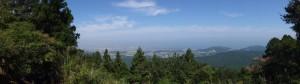 朝熊峠(朝熊岳道)からの風景