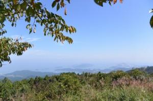 朝熊ヶ岳(朝熊山)山頂からの眺望