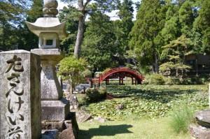 連間の池、連珠橋ほか(金剛證寺)