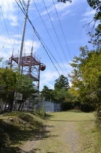 無線中継所(宇治岳道)