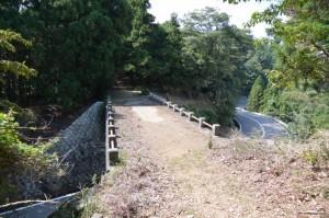 宇治岳道の伊勢志摩スカイラインを越える橋