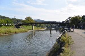 五十鈴川、新橋付近