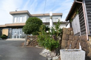 中村町公民館と秋葉神社