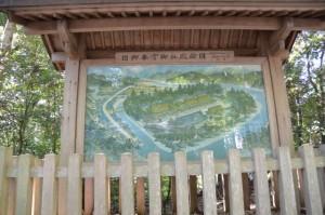 旧御本宮御社殿絵図(熊野本宮大社)