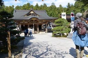 拝殿付近(熊野本宮大社)
