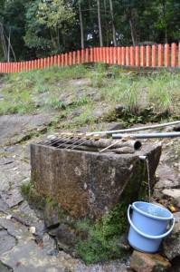 神倉神社の手水鉢