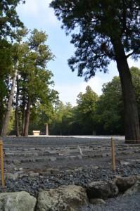 豊受大神宮の古殿地
