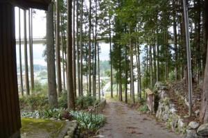 船木神社(大紀町船木)付近