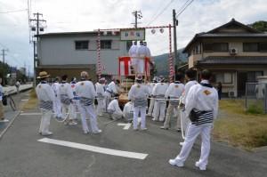 瀧原宮 お白石持行事、里旧道(熊野古道)入口