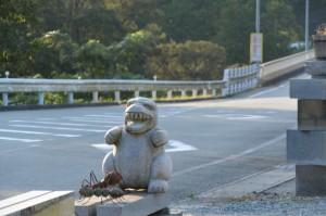 お白石奉献を終えて、国道42号 里旧道(熊野古道)入口付近