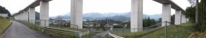 船木神社(大紀町船木)付近からのパノラマ