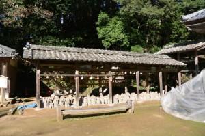 退避中の新四国霊場(丹生大師 神宮寺)