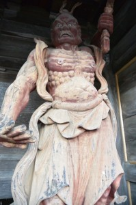 仁王像(丹生大師 神宮寺の山門)