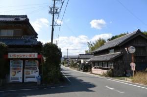 外城田神社付近(多気町笠木)