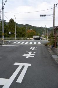 大紀町役場付近からJR紀勢本線 滝原駅へ