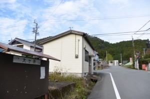 滝原大橋(大内山川)からJR紀勢本線 滝原駅へ