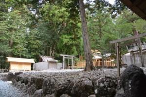 この後、遷宮諸祭儀、遷御が斎行される若宮神社、長由介神社(川島神社を同座)の現社