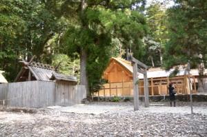 この後、遷宮諸祭儀が斎行される若宮神社(瀧原宮所管社)と瀧原竝宮の新宮