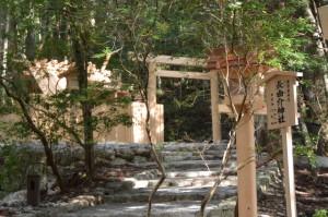 これから遷宮諸祭儀が斎行される若宮神社および長由介神社(川島神社を同座)の新社