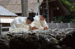 遷宮諸祭儀、杵築祭(長由介神社(川島神社を同座))