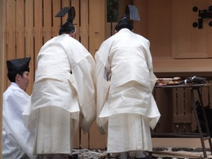 遷宮諸祭儀、後鎮祭(長由介神社(川島神社を同座))