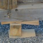第60回 国華会 菊花奉納展示を終えた屋形に見る職人の技(内宮)