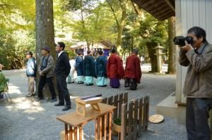 伊勢大神楽と例祭(頭之宮四方神社)