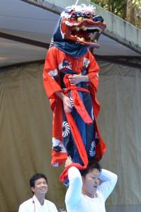 伊勢大神楽(頭之宮四方神社)