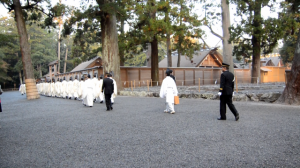 新嘗祭 奉幣の儀(外宮)