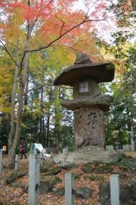 積田神社の紅葉(名張市夏見)