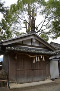 積田神社、御輿庫(名張市夏見)