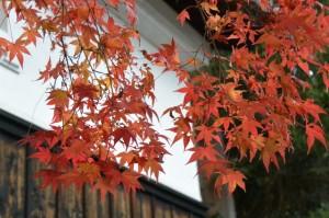 積田神社の宝物殿(名張市夏見)