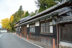 積田神社の社務所、参籠所(名張市夏見)